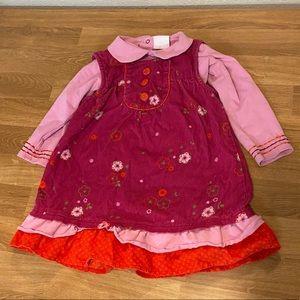 Petit Lem corduroy dress
